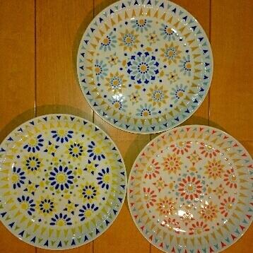 パスタカレー皿