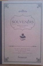 茶色ノートフランス語デザイン