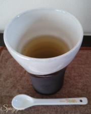 スプーンとこんぶ茶