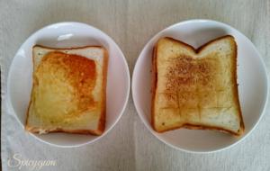 二枚の食パン