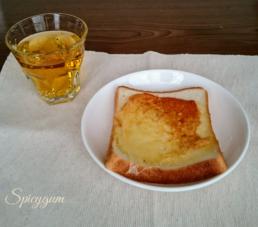 ルイボスティーとパン
