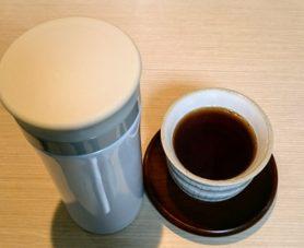 ステンレスボトルとお茶