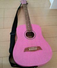 ピンクギター