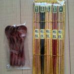 セリアのスス竹細角箸をやめて、Wowma!(ワウマ)で新たに家族分の箸を購入。使いやすさと高級感に惚れ惚れ!