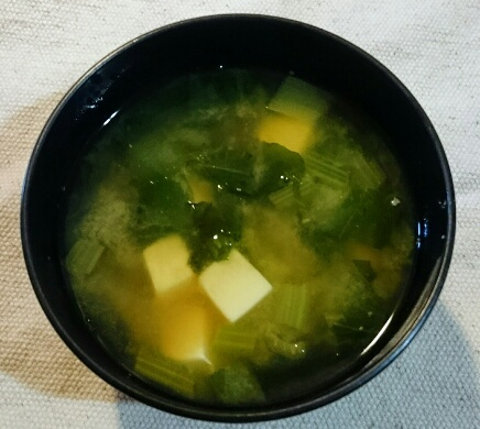 味噌汁食物繊維